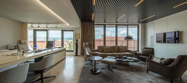 interiérový dizajn - kancelársky priestor