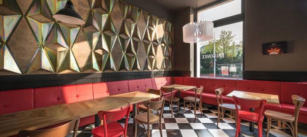 Dizajn reštaurácie Rudolfinum Bratislava