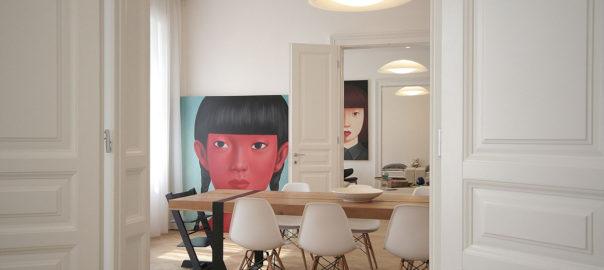 Interiér mestského bytu - KOSI architekti