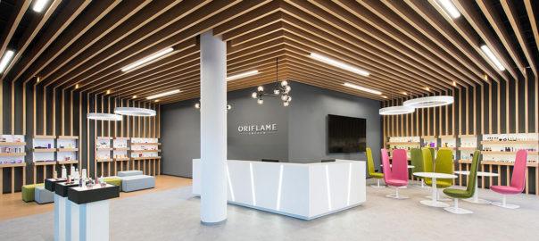 Interiérový dizajn showroomu