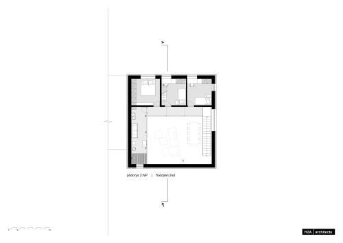 "H2A | ARCHITECTS | DOM ""PRST"""