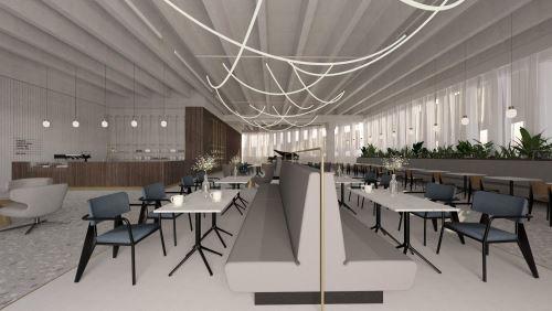 10-OBCHODNÝ DOM LAMAČ (1100 m²)-Študentský koncept