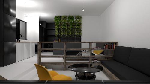 5-ZLATÝ REZ (42 m²)-Študentský koncept