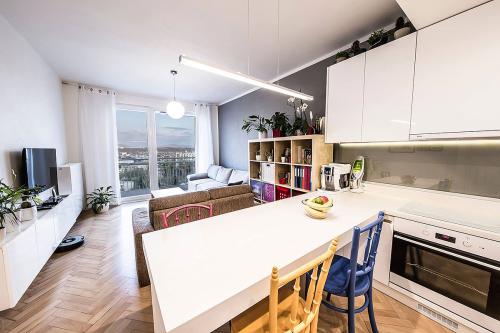 4M-a architekti - rekonštrukcia interiéru bytu