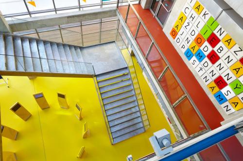 a02 architekti - interiér univerzitnej knižnice