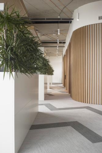interiér kancelárie