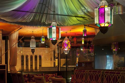 Náš Ateliér - interiér reštaurácie Habibi Žilina