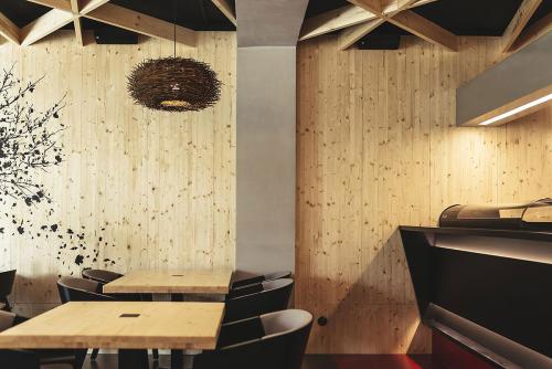 Performa architects - interiér reštaurácia SATORI Nitra