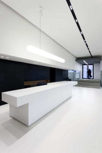 interiér administratívy