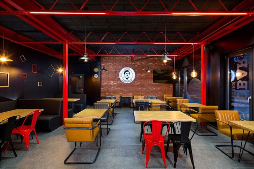 Feel studio interier baru Escobar Burgers