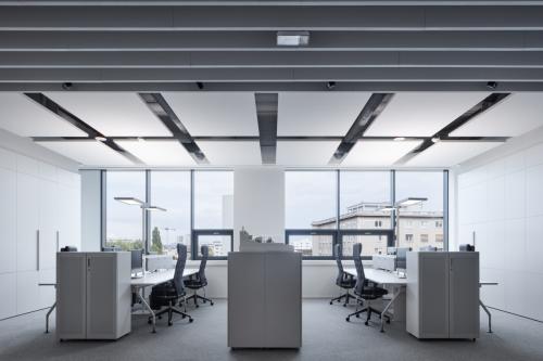 interiér kancelárií