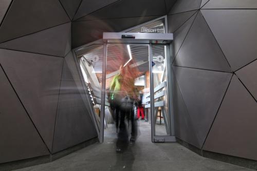 interiér stanice