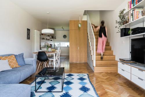 z+v architects & GRAU - interiér rodinného domu